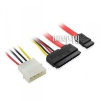 Аксессуар Greenconnect SATA 22pin/Molex 4pin/7pin 0.5m GC-ST301