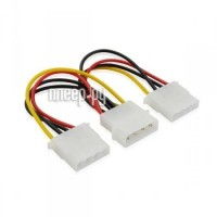 Аксессуар Greenconnect 4pin Molex-2x4pin Molex GC-ST204