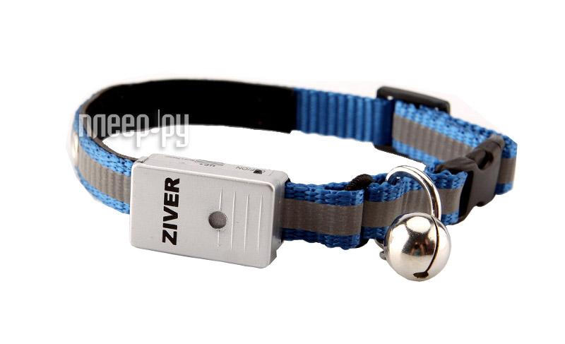 Ошейник светодиодный Ziver 402 Blue  Pleer.ru  318.000