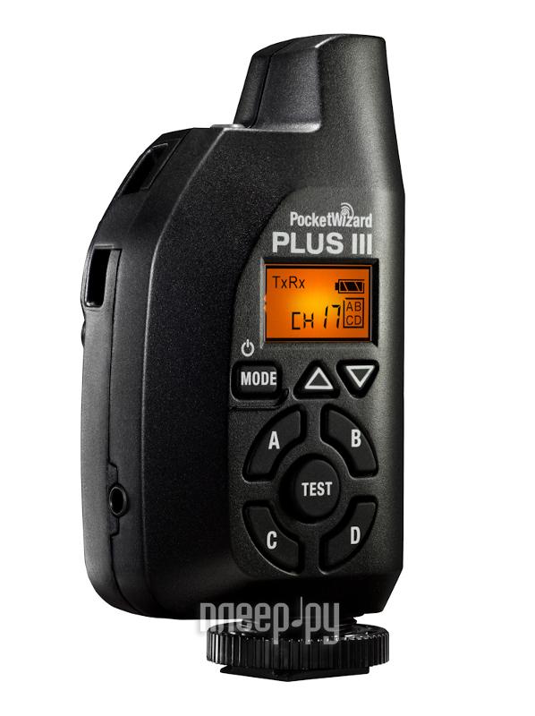 Радиосинхронизатор PocketWizard Plus III  Pleer.ru  5497.000