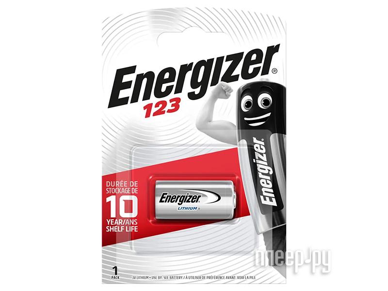Батарейка CR123 - Energizer Speciality Photo 123