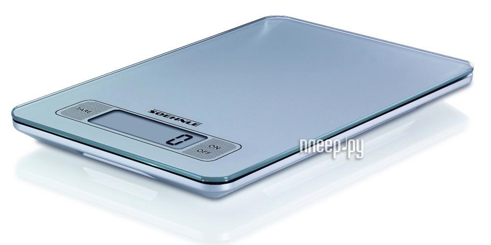 Весы Soehnle 66107 Slim Design Silver  Pleer.ru  1065.000
