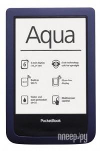 ����������� ����� PocketBook Aqua 640 Dark Blue PB640-B-RU