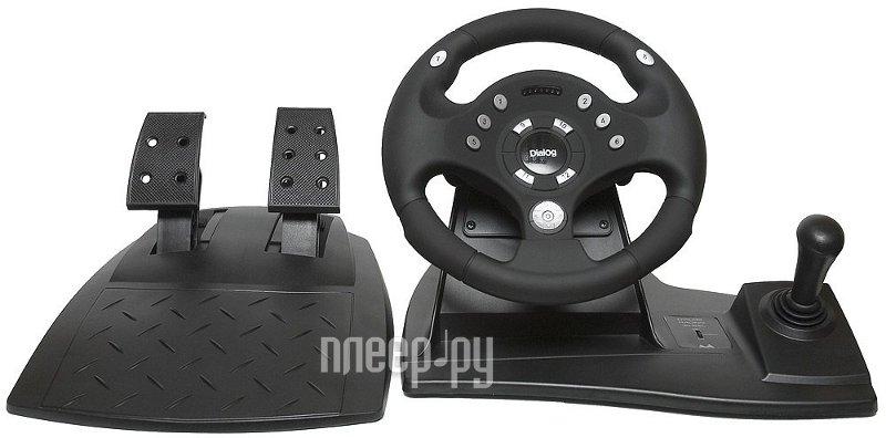 Игровой руль Dialog Rally-Sport GW-11VR купить