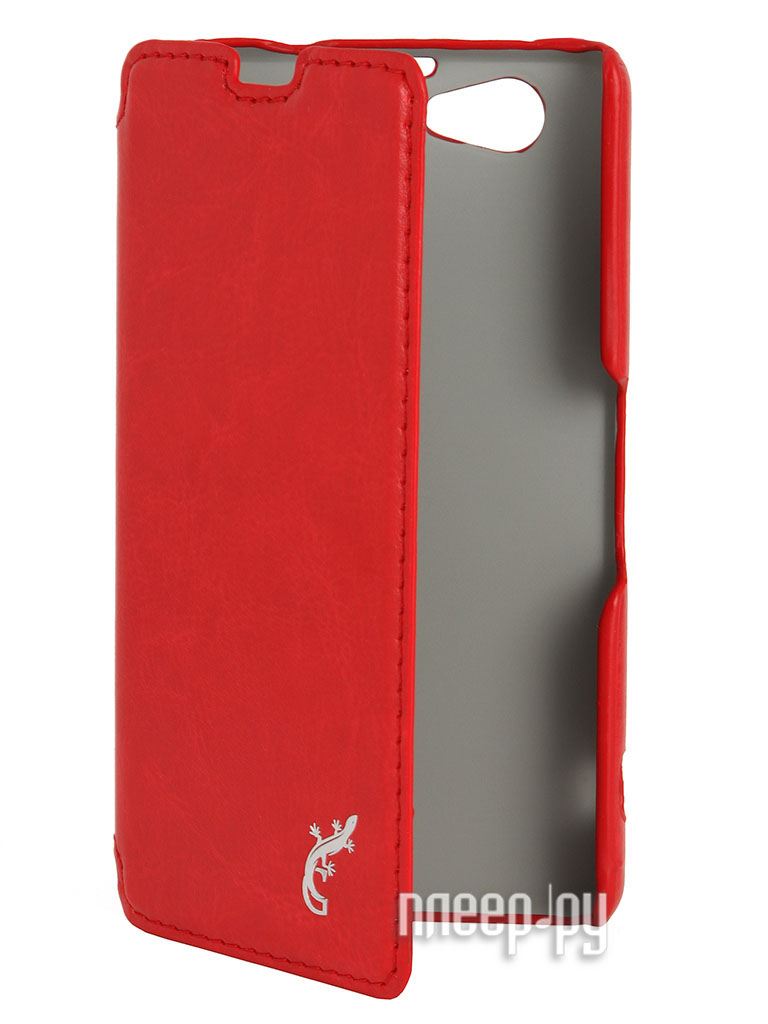 Аксессуар Чехол Sony Xperia Z1 Compact G-case Slim Premium Red GG-271  Pleer.ru  1249.000