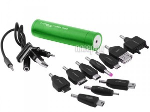 Аккумулятор MiPow Power Tube SP2200 2200mAh Green