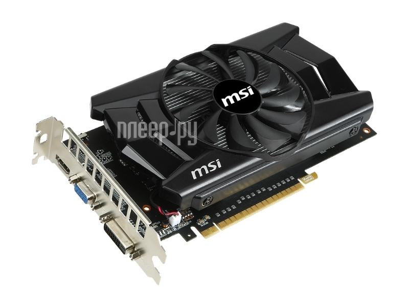 Видеокарта MSI GeForce GTX 750 Ti 1059Mhz PCI-E 3.0 2048Mb 5400Mhz 128 bit DVI HDMI HDCP N750Ti-2GD5/OC / V809-174S / N750Ti-2GD5/OCV1