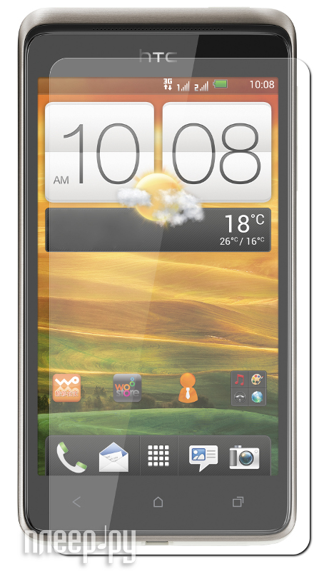 Аксессуар Защитная пленка HTC Desire 400 Dual LuxCase антибликовая 80377  Pleer.ru  94.000