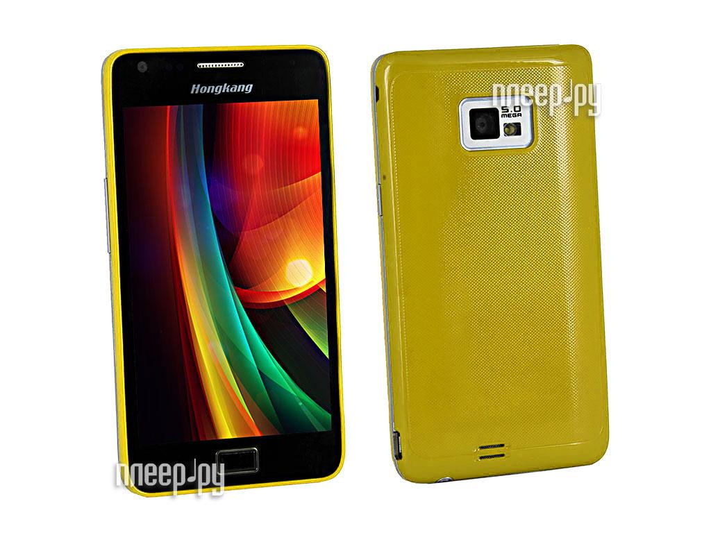 Сотовый телефон HongKang HK 6186 DUOS Yellow  Pleer.ru  7998.000