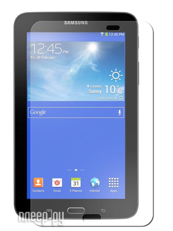 Аксессуар Защитная пленка Samsung Galaxy Tab 3 7.0 Lite SM-T110 LuxCase суперпрозрачная 80991  Pleer.ru  620.000