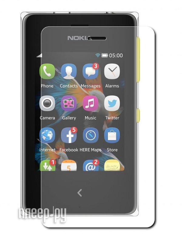 Аксессуар Защитная пленка Nokia Asha 500/500 Dual LuxCase антибликовая 80452  Pleer.ru  555.000