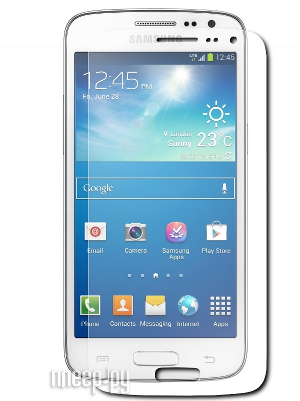 Аксессуар Защитная пленка Samsung SM-G3815 Galaxy Express 2 LuxCase суперпрозрачная 80819  Pleer.ru  94.000