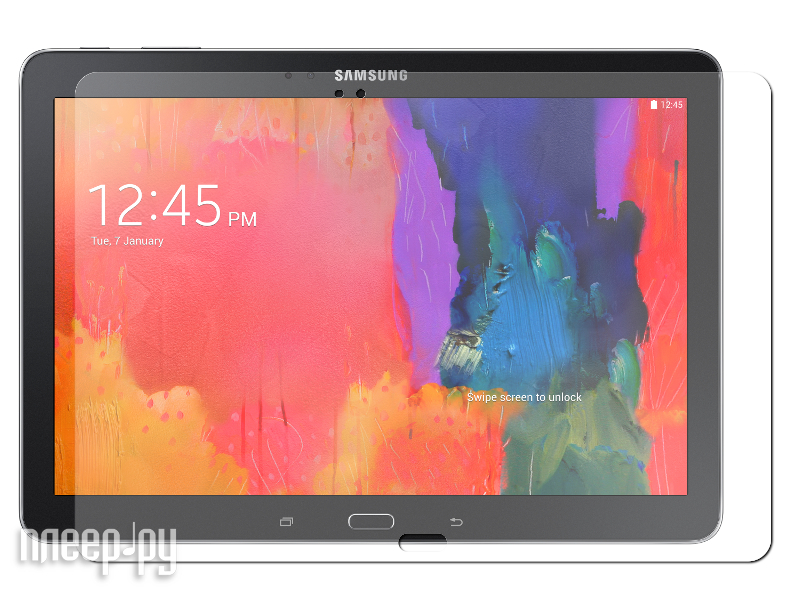 Аксессуар Защитная пленка Samsung SM-T520/T525 Galaxy Tab Pro 10.1 LuxCase антибликовая 80994  Pleer.ru  620.000