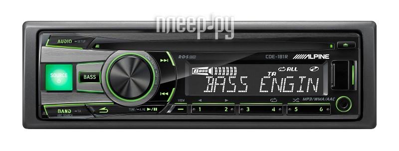 Автомагнитола Alpine CDE-181R  Pleer.ru  4184.000