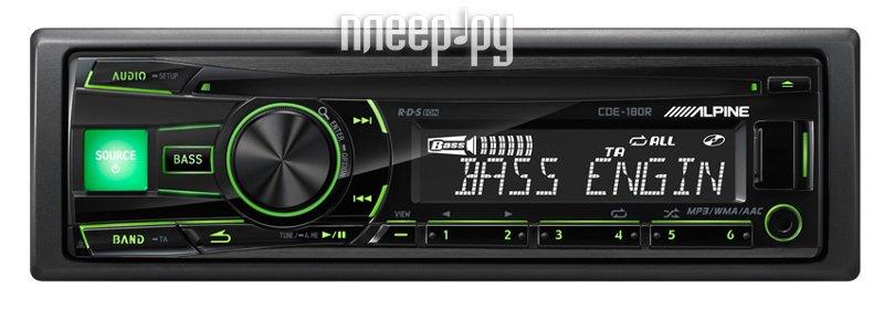 Автомагнитола Alpine CDE-180R  Pleer.ru  3217.000