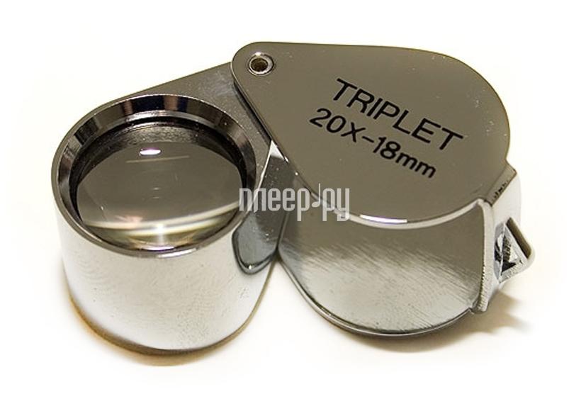 Оптическая лупа Veber TRIPLET 20x-18mm  Pleer.ru  748.000