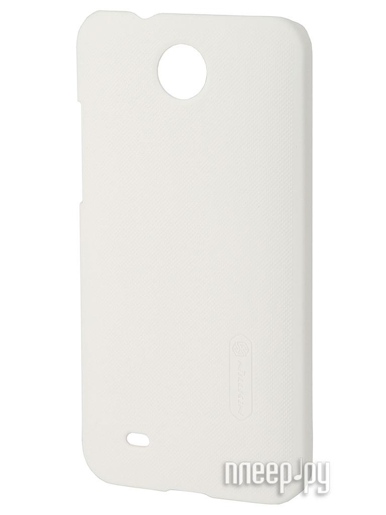 Аксессуар Чехол-накладка HTC Desire 300 Nillkin Super Frosted Shield White  Pleer.ru  300.000