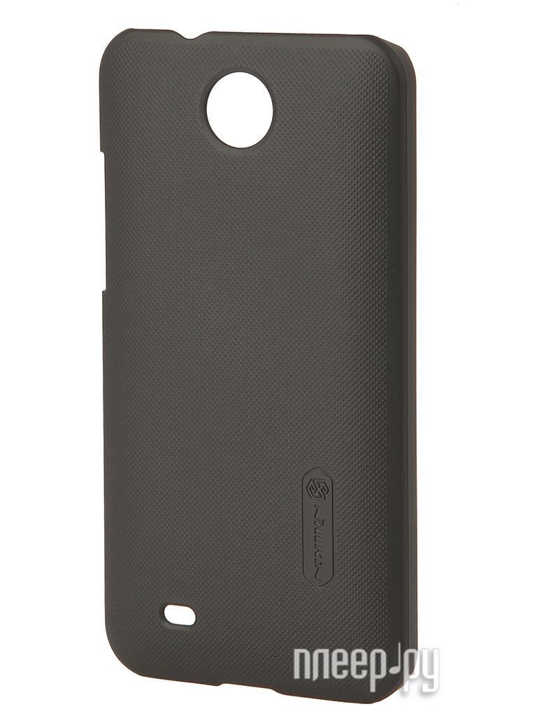 Аксессуар Чехол-накладка HTC Desire 300 Nillkin Super Frosted Shield Black  Pleer.ru  300.000