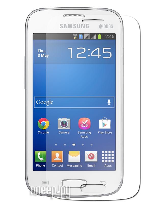 Аксессуар Защитная пленка Samsung S7262 Galaxy Star Plus Red Line матовая  Pleer.ru  537.000