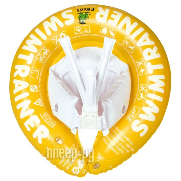 Надувной круг Swimtrainer Classic Yellow  Pleer.ru  848.000