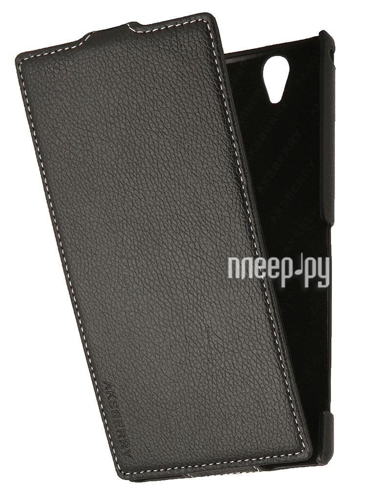Аксессуар Чехол Sony Xperia T2 Ultra Dual M50h Aksberry Black  Pleer.ru  1149.000
