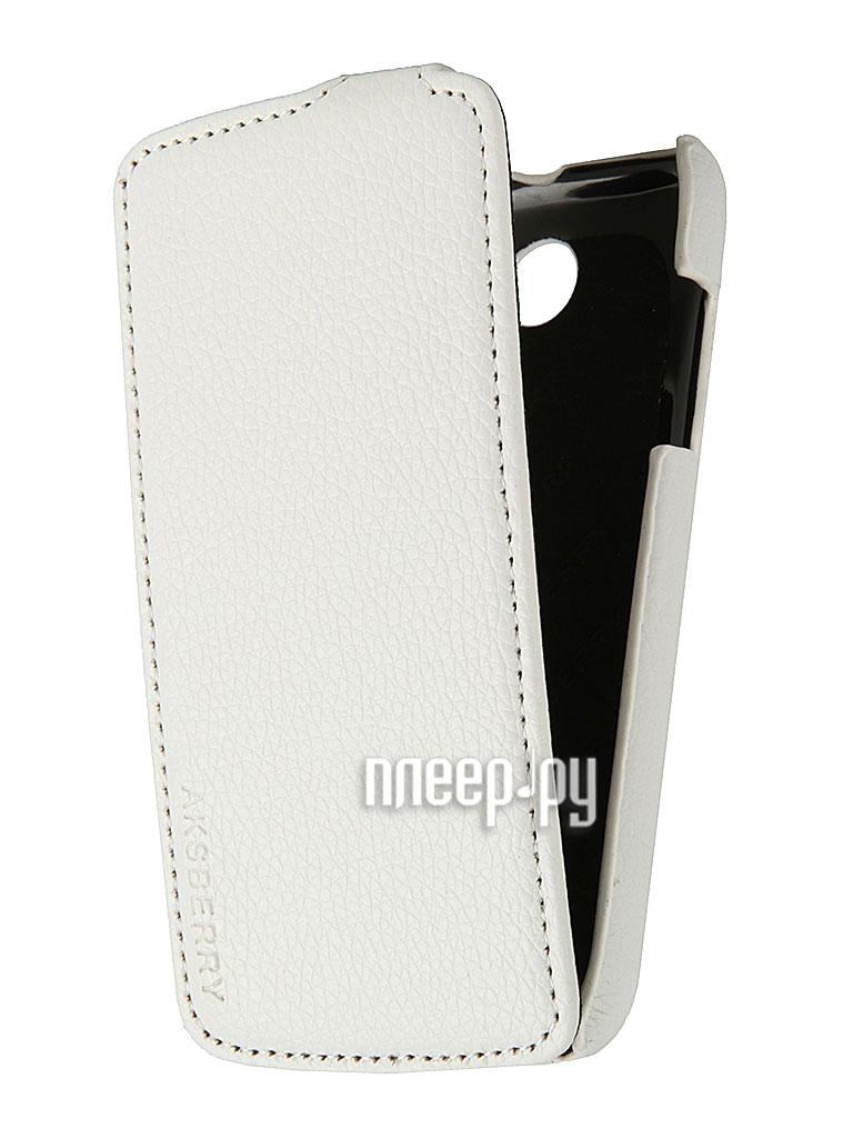 Аксессуар Чехол Lenovo A516 Aksberry White  Pleer.ru  329.000