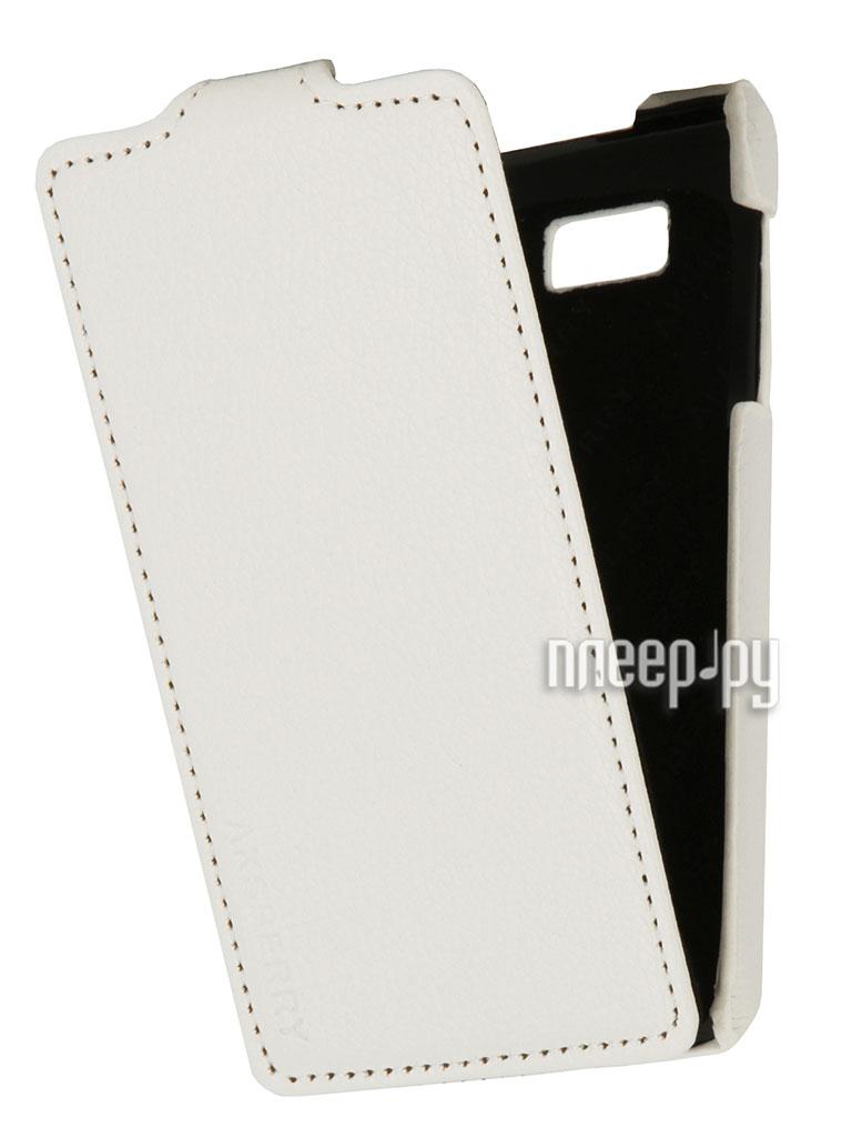 Аксессуар Чехол HTC Desire 400 Aksberry White  Pleer.ru  348.000