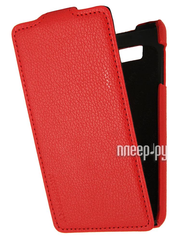 Аксессуар Чехол HTC Desire 400 Aksberry Red  Pleer.ru  348.000