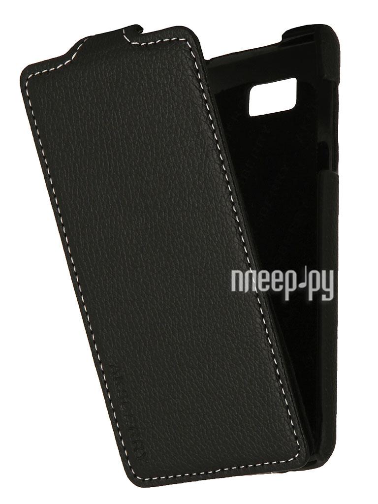 Аксессуар Чехол HTC Desire 400 Aksberry Black  Pleer.ru  348.000