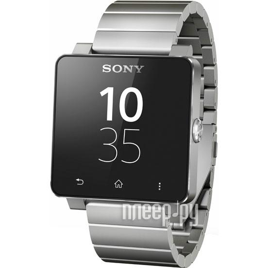 Умные часы Sony SmartWatch 2 SW2 Metal Strap Silver 1279-9892  Pleer.ru  6057.000