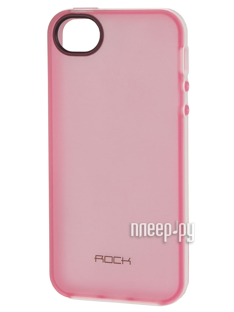 Аксессуар Чехол ROCK Joyful Protective Shell for iPhone 5 / 5S Pink 24384  Pleer.ru  479.000