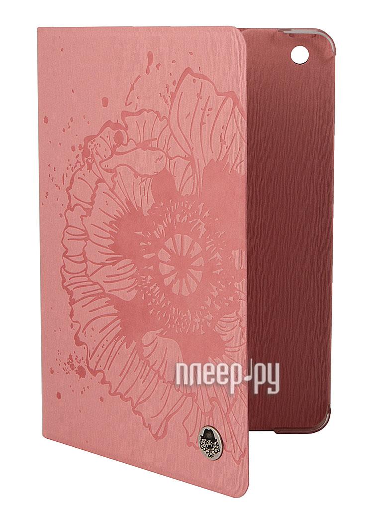 Аксессуар Чехол ROCK Impress Side Flip for iPad mini Retina Pink 59577  Pleer.ru  1279.000