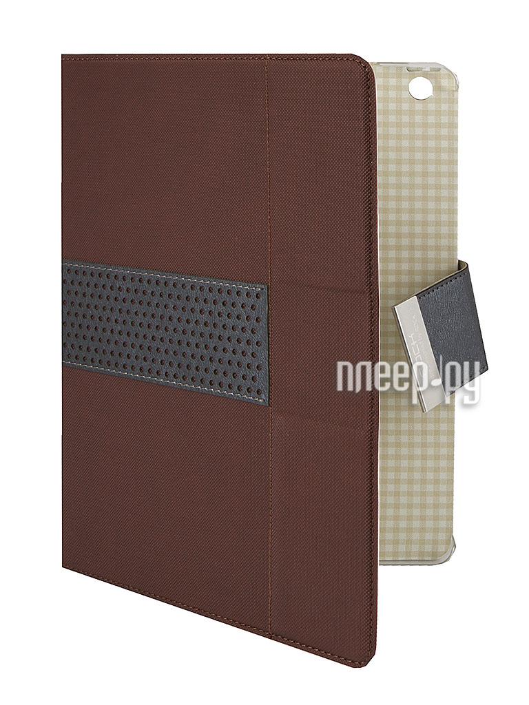 Аксессуар Чехол ROCK Excel Side Flip for iPad Air Coffee 58136  Pleer.ru  1179.000