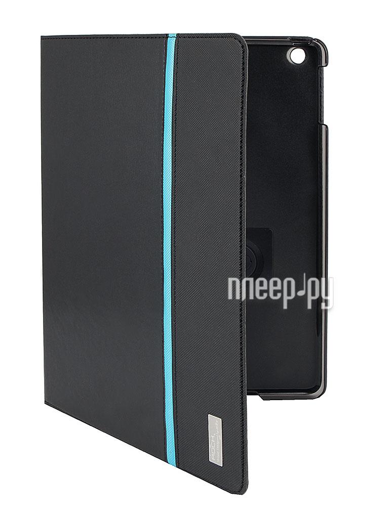 Аксессуар Чехол ROCK Rotate Side Flip for iPad Air Black 58259  Pleer.ru  1080.000