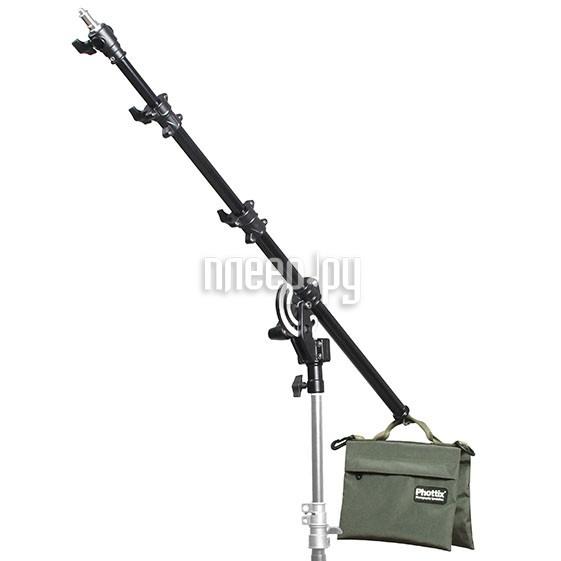 Стойка студийная Phottix Boom Arm 160cm 63-inch 88199 консоль с песочным противовесом  Pleer.ru  2640.000