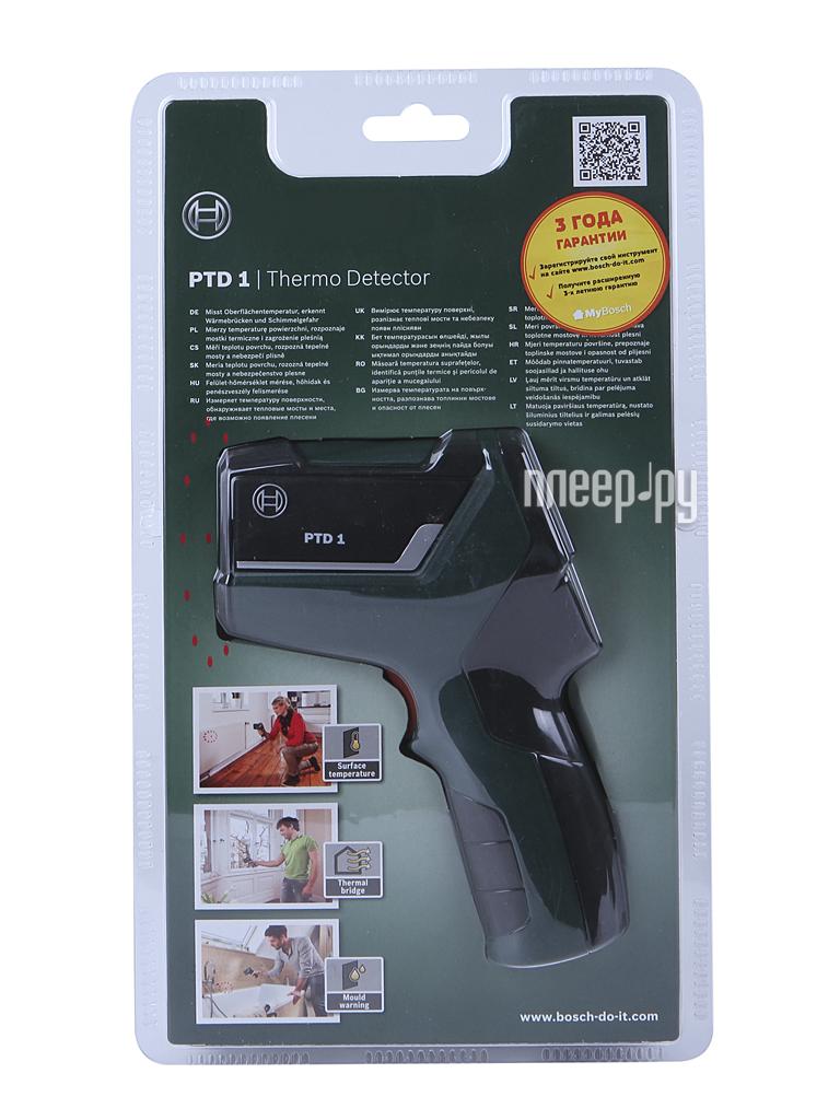 Термометр бесконтактный Bosch PTD 1 0603683020  Pleer.ru  4550.000