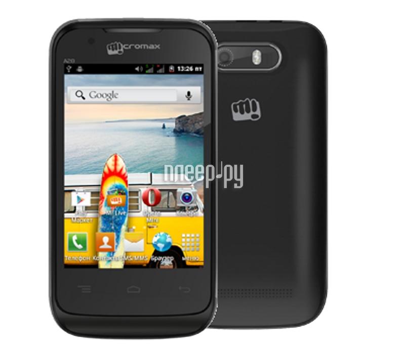Сотовый телефон Micromax A28 Bolt Black  Pleer.ru  1550.000