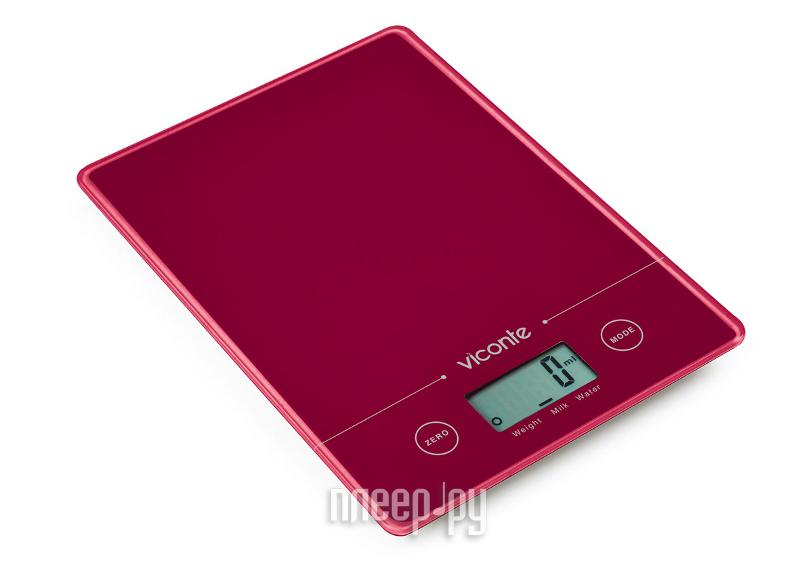 Весы Viconte VC-516 Red  Pleer.ru  405.000