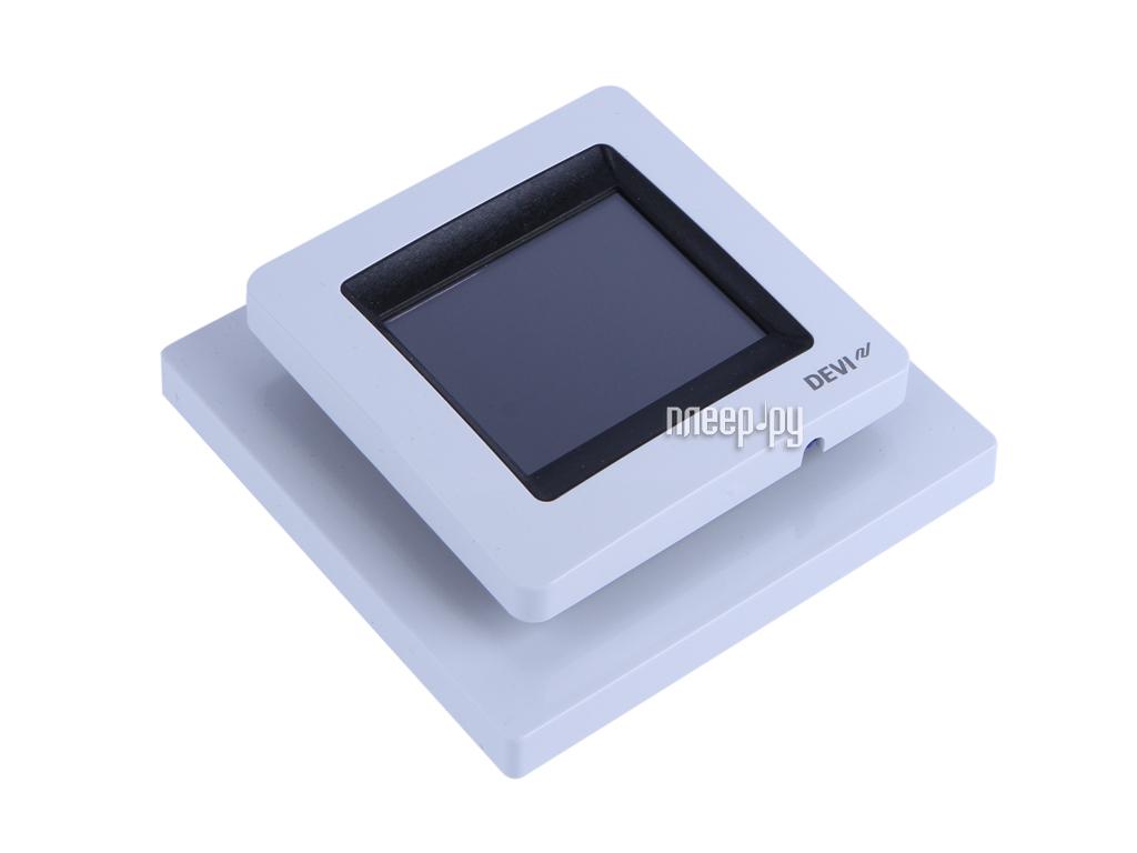 Теплый пол DEVI DEVIreg Touch Polar White 140F1071 терморегулятор  Pleer.ru  3958.000