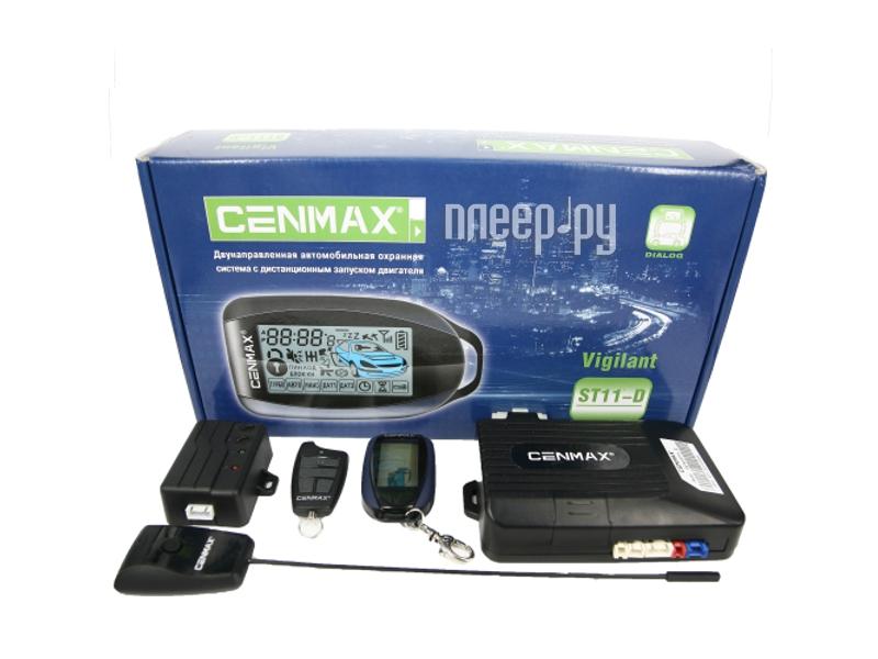Сигнализация Cenmax Vigilant ST11-D с автозапуском  Pleer.ru  2900.000