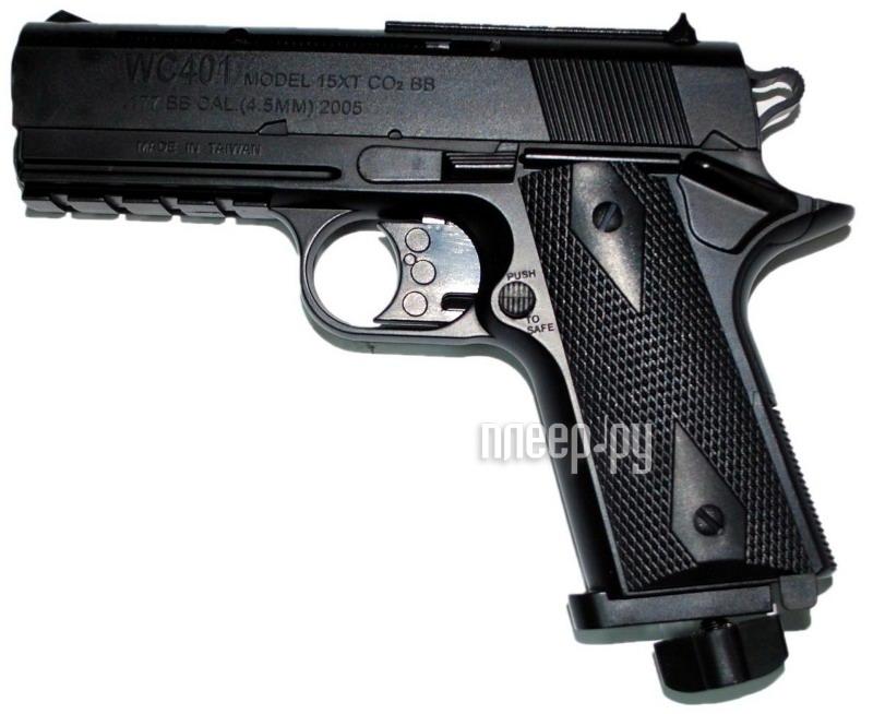 Пистолет Borner WC 401 4.5mm  Pleer.ru  1251.000