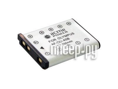 Аккумулятор AcmePower AP Li-42B / Li-40B  Pleer.ru  247.000