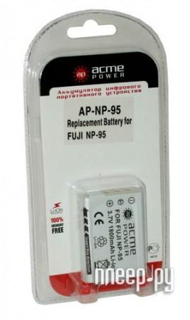 Аккумулятор AcmePower AP NP-95  Pleer.ru  159.000