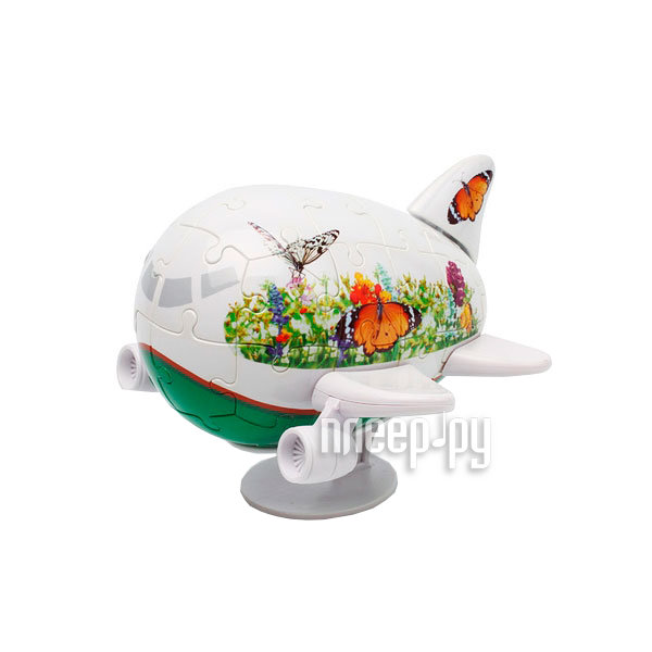 3D-пазл Pintoo Самолетик Бабочки 11.5cm E5027-03  Pleer.ru  224.000