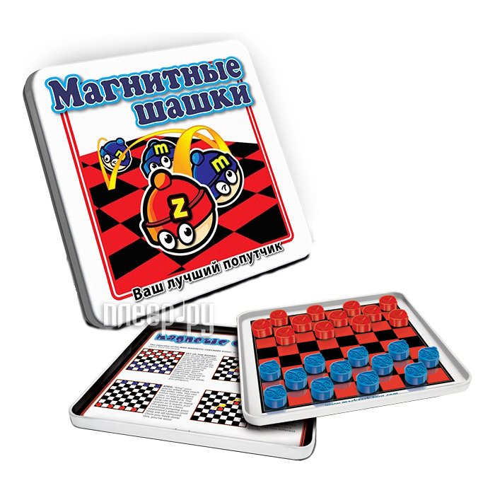 Настольная игра MACK&ZACK Шашки MT002  Pleer.ru  252.000