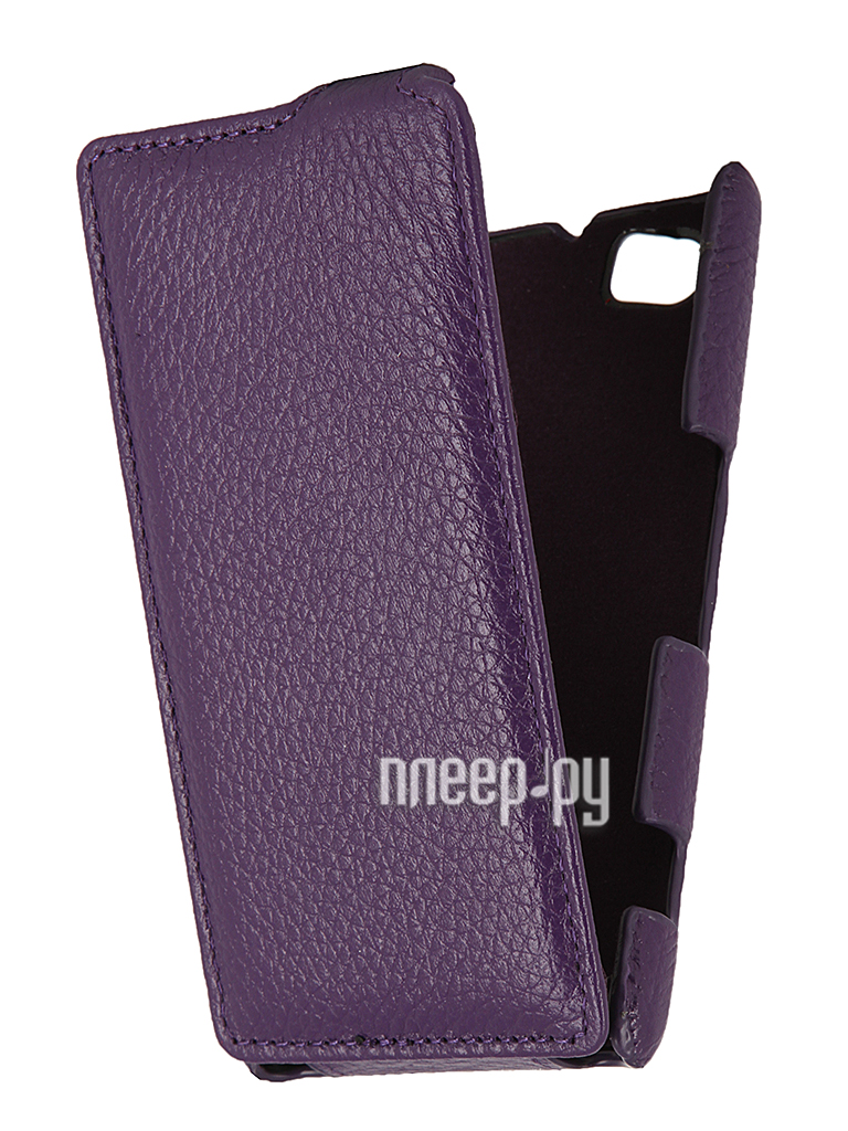 Аксессуар Чехол Sony Xperia M C1905 Clever Case Shell тисненая  Pleer.ru  1071.000