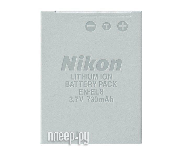 Аккумулятор Nikon EN-EL8  Pleer.ru  447.000