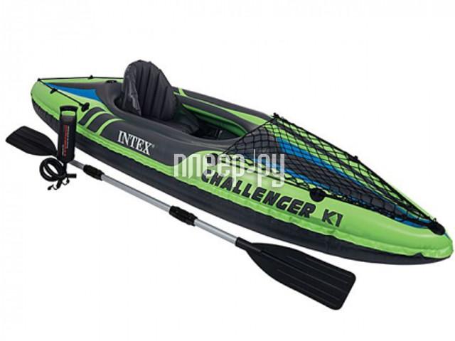 Надувная лодка Intex Challenger K1 68305