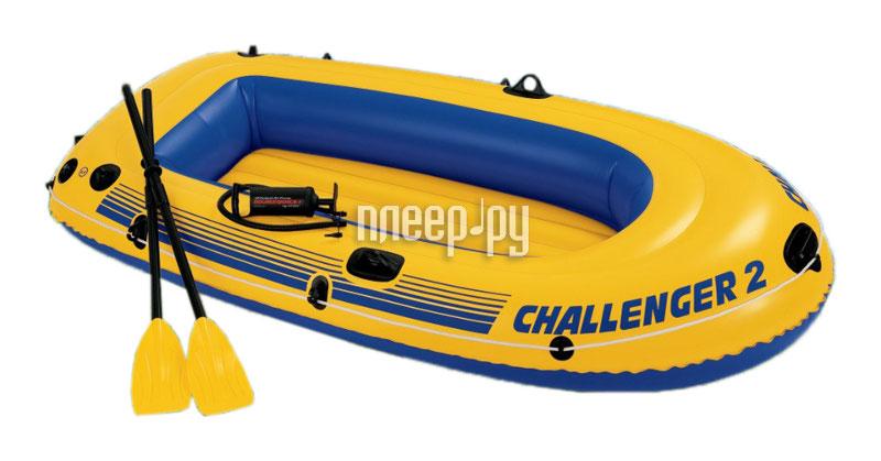 Надувная лодка Intex Challenger-2 Set 68367