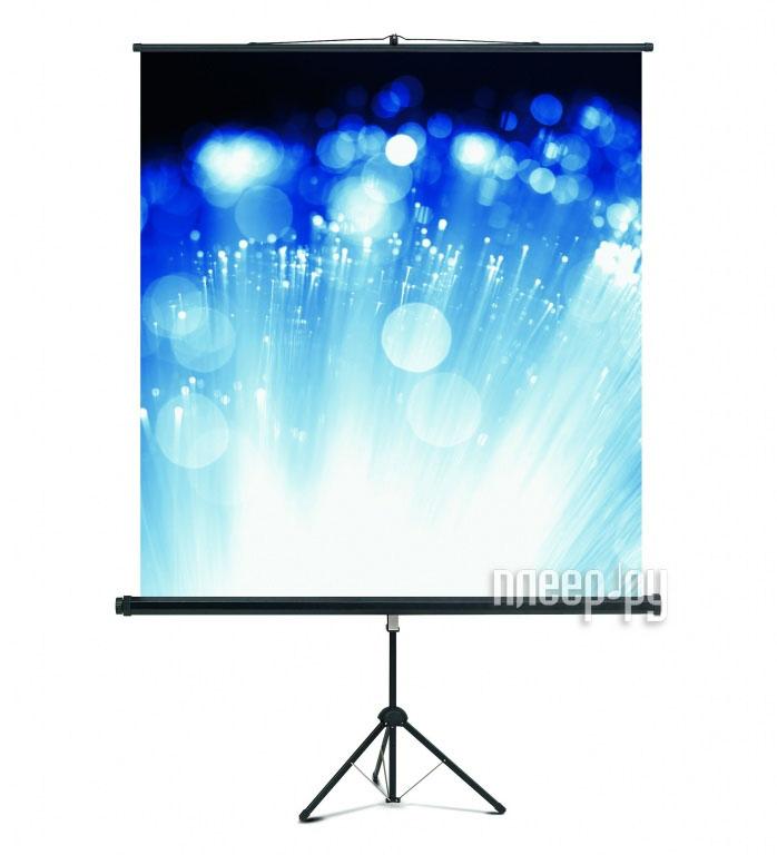 Экран Magnetoplan Cineflex 150x150cm на штативе  Pleer.ru  4109.000